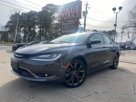 2017 Chrysler 200 for sale at Carafello's Auto Sales in Norfolk VA