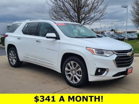 2018 Chevrolet Traverse for sale at Ken Ganley Nissan in Medina OH