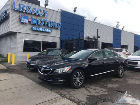 2017 Buick LaCrosse for sale at Legacy Motors in Detroit MI