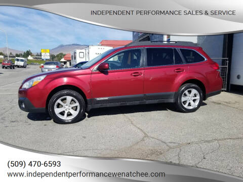 2014 Subaru Outback for sale at Independent Performance Sales & Service in Wenatchee WA
