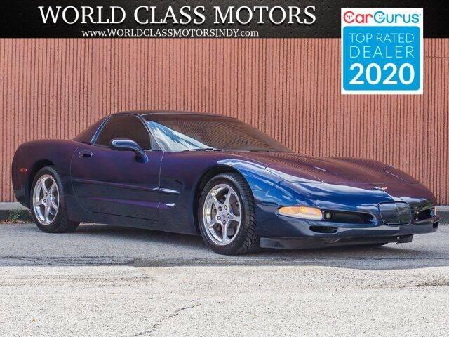 1999 Chevrolet Corvette for sale at World Class Motors LLC in Noblesville IN