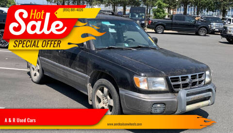 1998 Subaru Forester for sale at A & R Used Cars in Clayton NJ