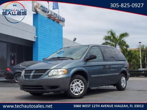 2006 Dodge Caravan for sale at Tech Auto Sales in Hialeah FL