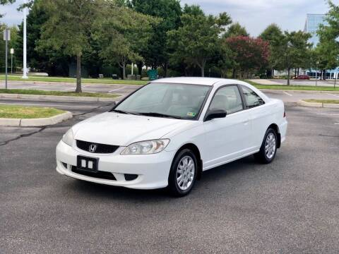2004 Honda Civic for sale at Supreme Auto Sales in Chesapeake VA