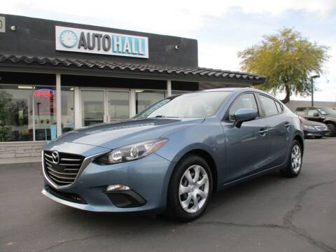 2016 Mazda MAZDA3 for sale at Auto Hall in Chandler AZ