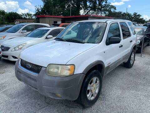 2002 Ford Escape for sale at P J Auto Trading Inc in Orlando FL