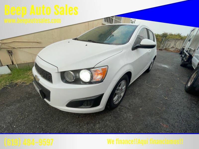 2012 Chevrolet Sonic for sale at Beep Auto Sales in National City CA