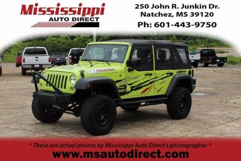 2017 Jeep Wrangler Unlimited for sale at Auto Group South - Mississippi Auto Direct in Natchez MS