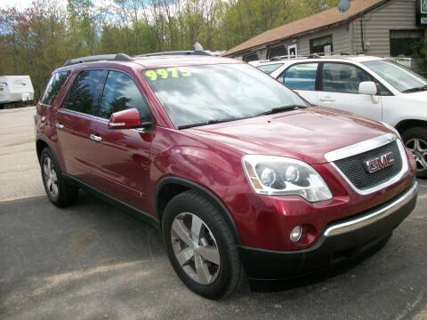 2010 GMC Acadia for sale at Olde Bay RV in Rochester NH
