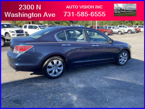 2010 Honda Accord for sale at Auto Vision Inc. in Brownsville TN