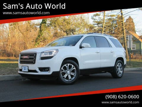 2014 GMC Acadia for sale at Sam's Auto World in Roselle NJ
