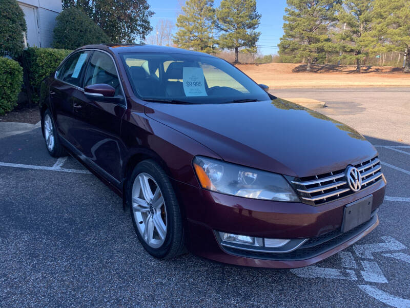 2013 Volkswagen Passat for sale at CarWay in Memphis TN