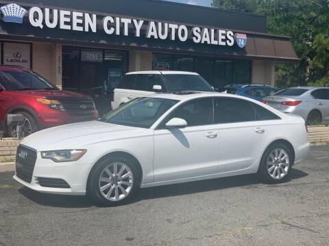 2014 Audi A6 for sale at Queen City Auto Sales in Charlotte NC