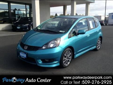 2013 Honda Fit for sale at PARKWAY AUTO CENTER AND RV in Deer Park WA