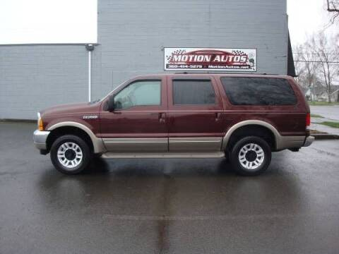 2000 Ford Excursion for sale at Motion Autos in Longview WA