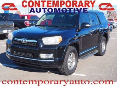 2012 Toyota 4Runner for sale at Contemporary Auto in Tuscaloosa AL