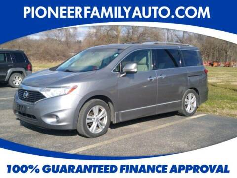 2011 Nissan Quest for sale at Pioneer Family auto in Marietta OH