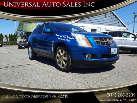 2010 Cadillac SRX for sale at Universal Auto Sales Inc in Salem OR
