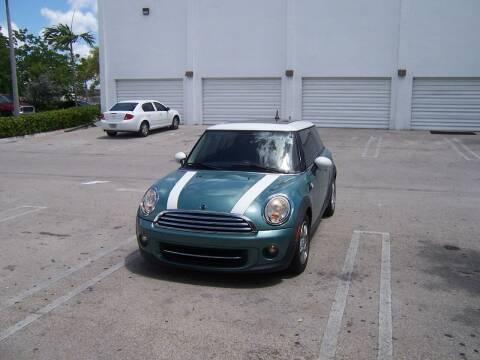 2012 MINI Cooper Hardtop for sale at Auto Credit & Finance Corp. in Miami FL