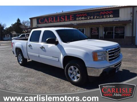 2013 GMC Sierra 1500 for sale at Carlisle Motors in Lubbock TX
