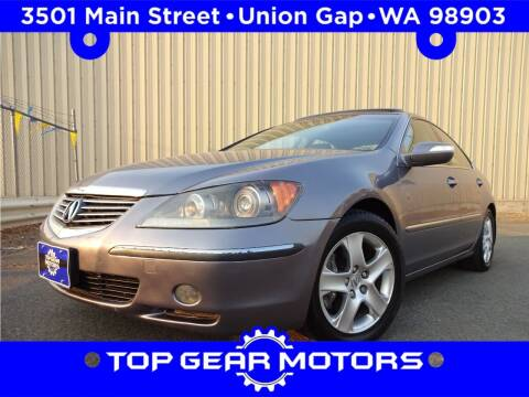 2006 Acura RL for sale at Top Gear Motors in Union Gap WA