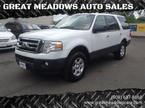 2011 Ford Expedition for sale at GREAT MEADOWS AUTO SALES in Great Meadows NJ