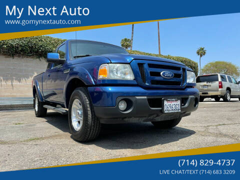 2011 Ford Ranger for sale at My Next Auto in Anaheim CA