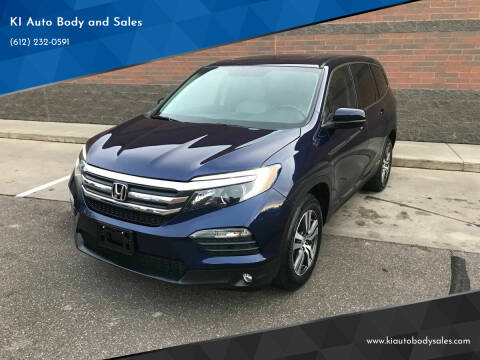 2016 Honda Pilot for sale at KI Auto Body and Sales in Lino Lakes MN