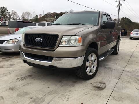 2005 Ford F-150 for sale at Complete Auto Credit in Moyock NC