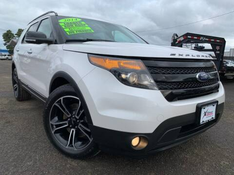 2014 Ford Explorer for sale at Xtreme Truck Sales in Woodburn OR