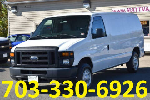2011 Ford E-Series Cargo for sale at MANASSAS AUTO TRUCK in Manassas VA