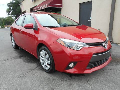 2016 Toyota Corolla for sale at AutoStar Norcross in Norcross GA