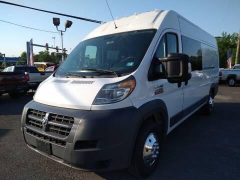 2016 RAM ProMaster Cargo for sale at P J McCafferty Inc in Langhorne PA