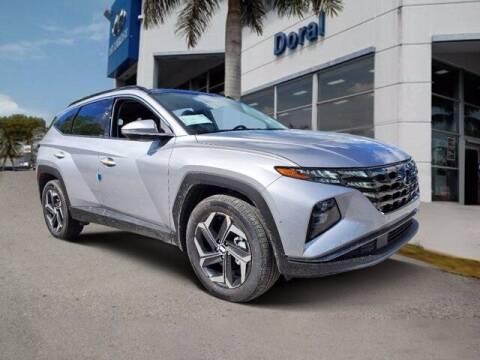 2022 Hyundai Tucson Hybrid for sale at DORAL HYUNDAI in Doral FL