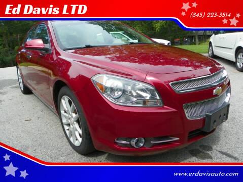 2009 Chevrolet Malibu for sale at Ed Davis LTD in Poughquag NY