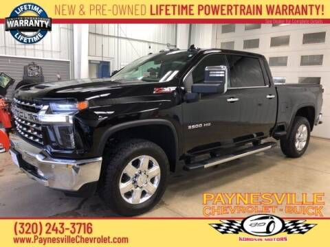 2020 Chevrolet Silverado 3500HD for sale at Paynesville Chevrolet - Buick in Paynesville MN