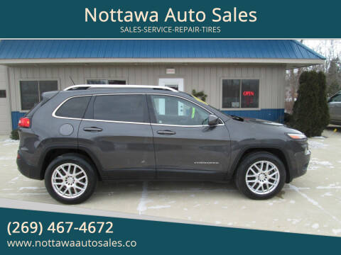 2015 Jeep Cherokee for sale at Nottawa Auto Sales in Nottawa MI