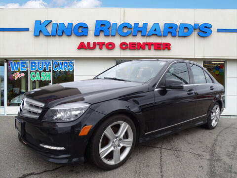 2011 Mercedes-Benz C-Class for sale at KING RICHARDS AUTO CENTER in East Providence RI