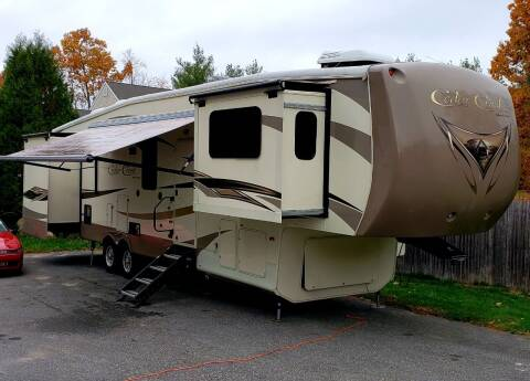 2015 Forest River Cedar Creek for sale at Flying Wheels in Danville NH