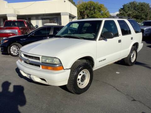 2003 Chevrolet Blazer for sale at Beutler Auto Sales in Clearfield UT