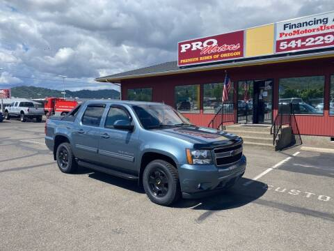 2011 Chevrolet Avalanche for sale at Pro Motors in Roseburg OR