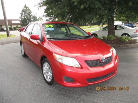 2009 Toyota Corolla for sale at Euro Asian Cars in Knoxville TN