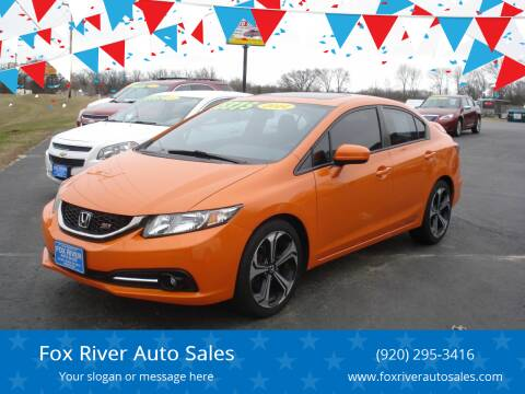 2014 Honda Civic for sale at Fox River Auto Sales in Princeton WI