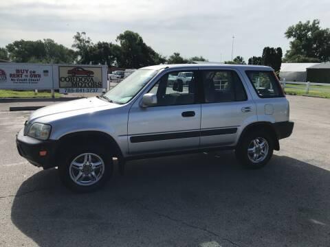 2000 Honda CR-V for sale at Cordova Motors in Lawrence KS