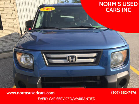 2008 Honda Element for sale at NORM'S USED CARS INC in Wiscasset ME