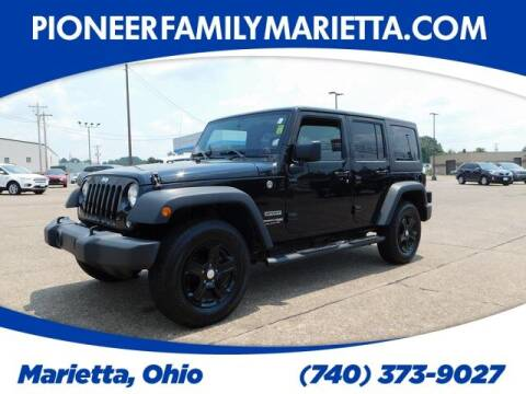 2018 Jeep Wrangler JK Unlimited for sale at Pioneer Family preowned autos in Williamstown WV