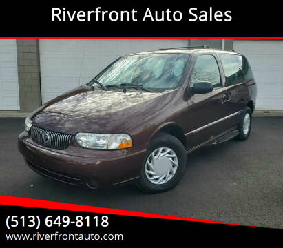 2001 Mercury Villager for sale at Riverfront Auto Sales in Middletown OH