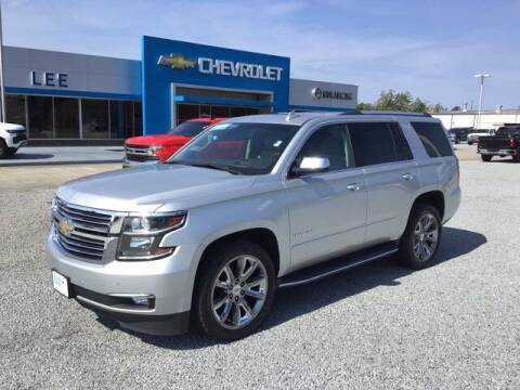 2017 Chevrolet Tahoe for sale at LEE CHEVROLET PONTIAC BUICK in Washington NC