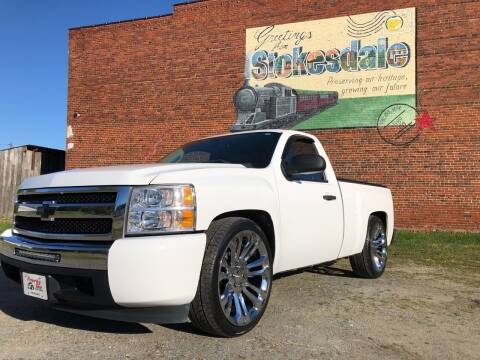 2010 Chevrolet Silverado 1500 for sale at Priority One Auto Sales in Stokesdale NC