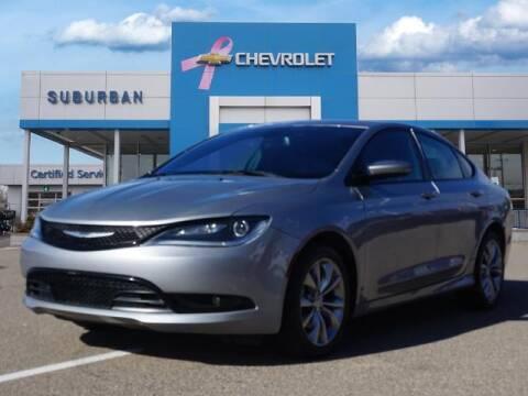 2015 Chrysler 200 for sale at Suburban Chevrolet of Ann Arbor in Ann Arbor MI